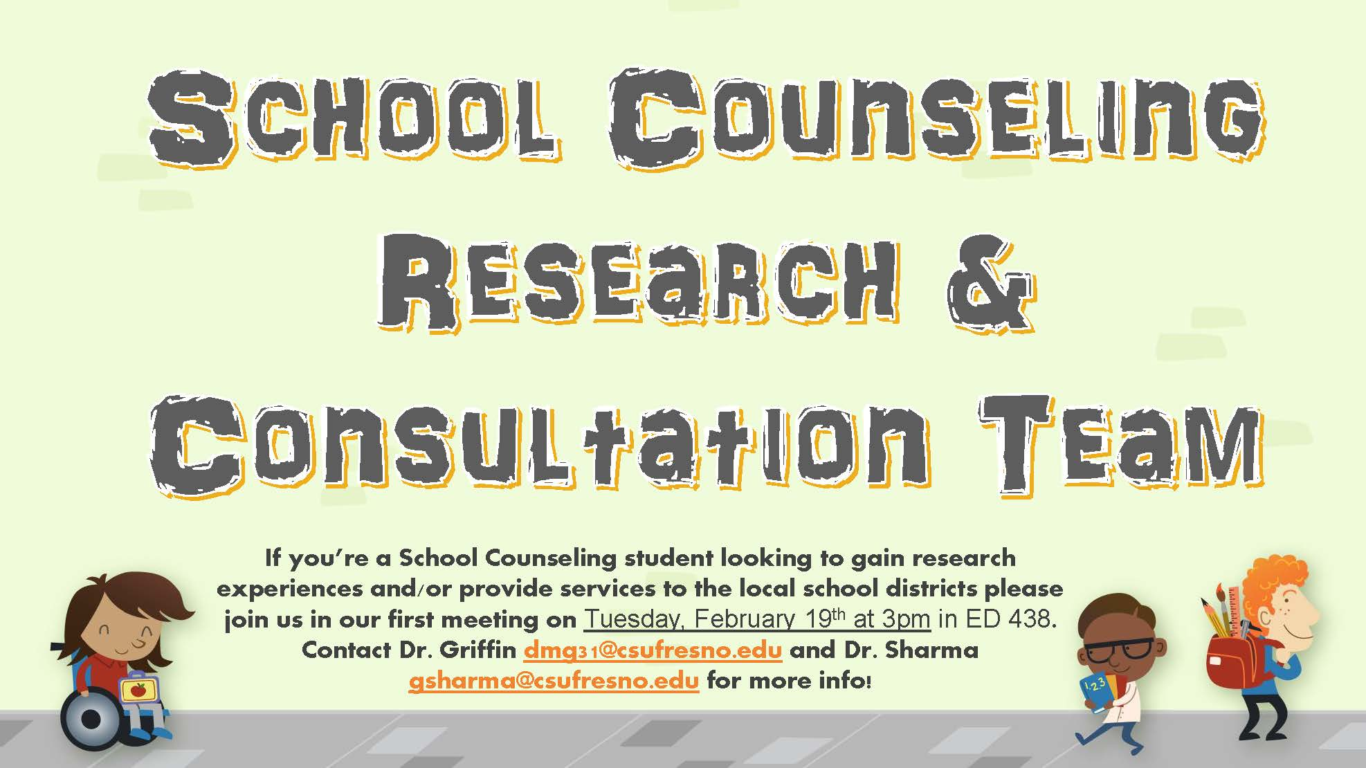 School Counseling Research and Consultation Team