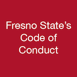 Fresno State's Code of Conduct