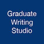 Graduate Writing Studio